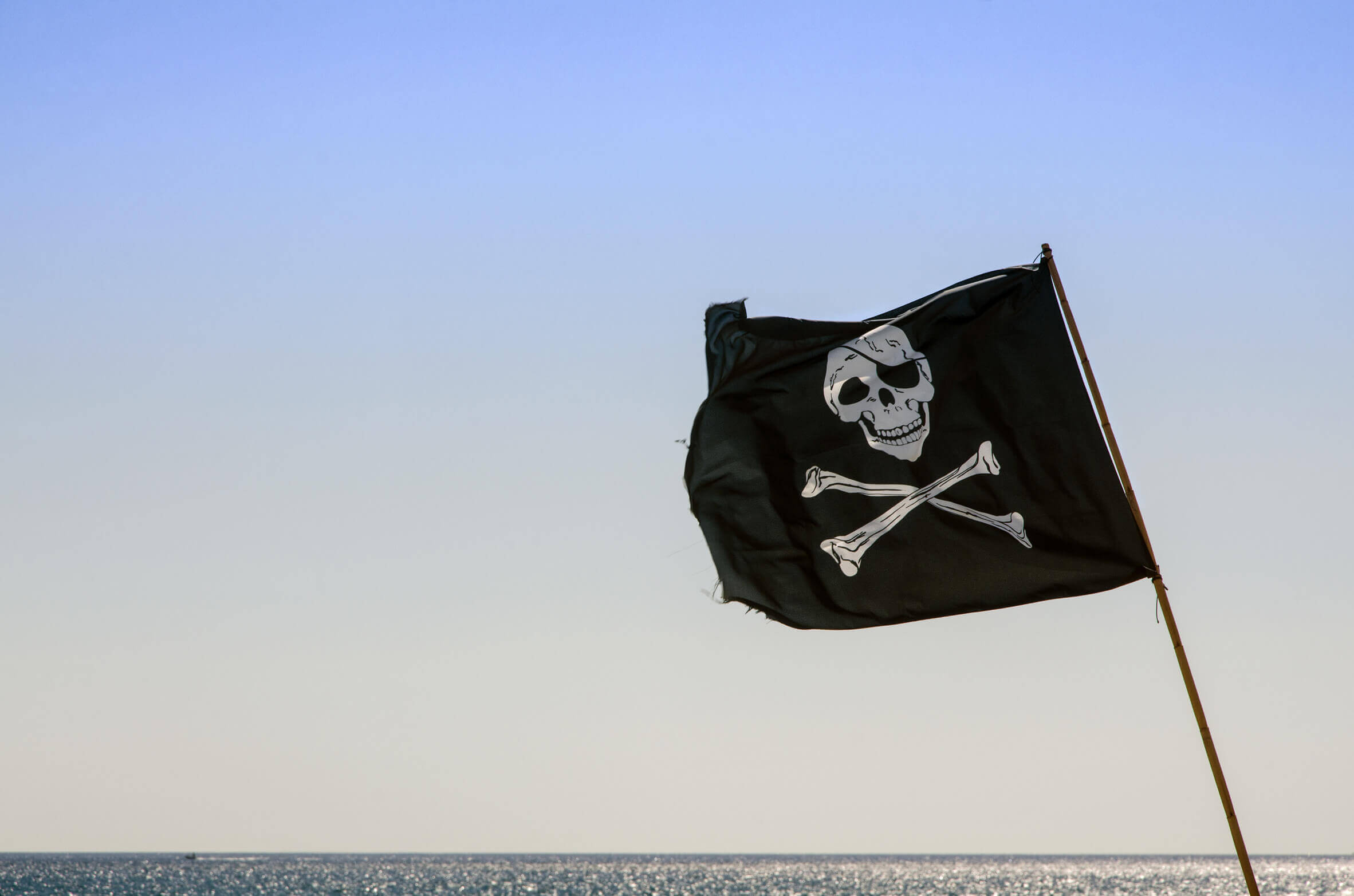 Piratenflagge / Fotolia