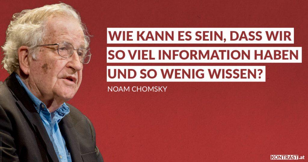 Wie kann es sein, dass wir so viel Information haben und so wenig wissen? - Noam Chomsky & Edward S. Herman über Medien (Manufacturing Consent)