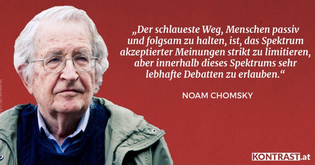 Noam Chomsky& Edward S. Herman über Medien (Manufacturing Consent)