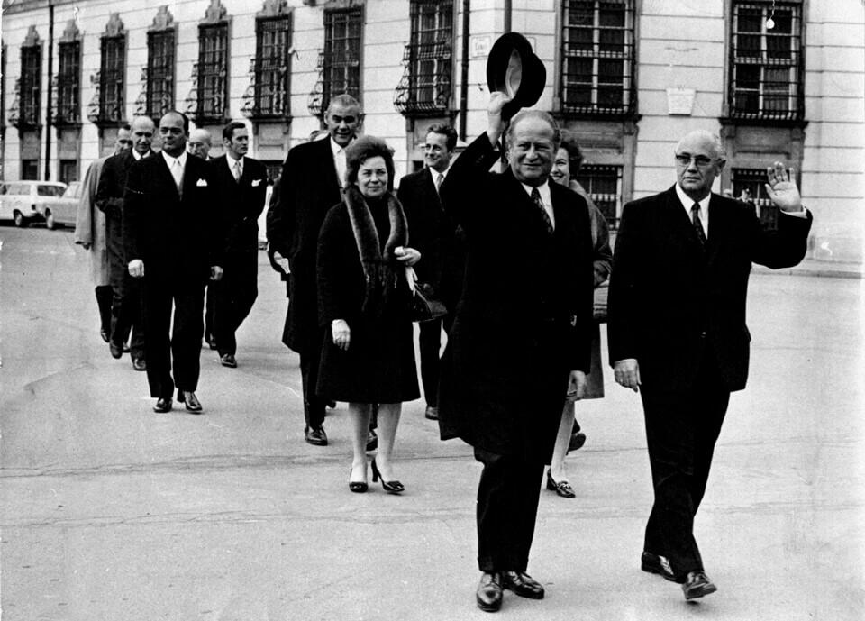 Angelobung der Regierung Bruno Kreisky I, 1970 (Artikel: Bruno Kreisky Biografie)