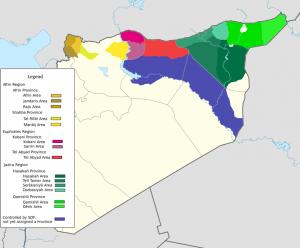 Rojava Karte 2017