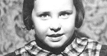 Johanna Dohnal als Kind