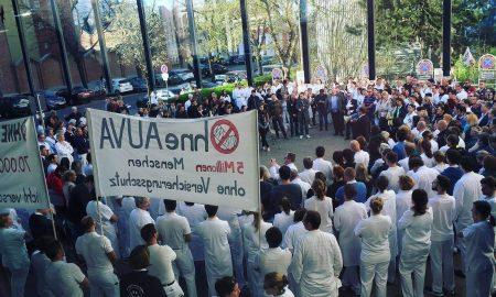 Demo gegen AUVA-Auflösung