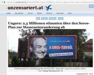 George Soros sorgte für noch einen Einzelfall