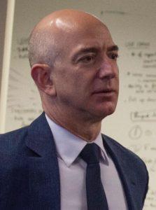 Bild von Jeff Bezos zum Artikel über den Amazon-Streik