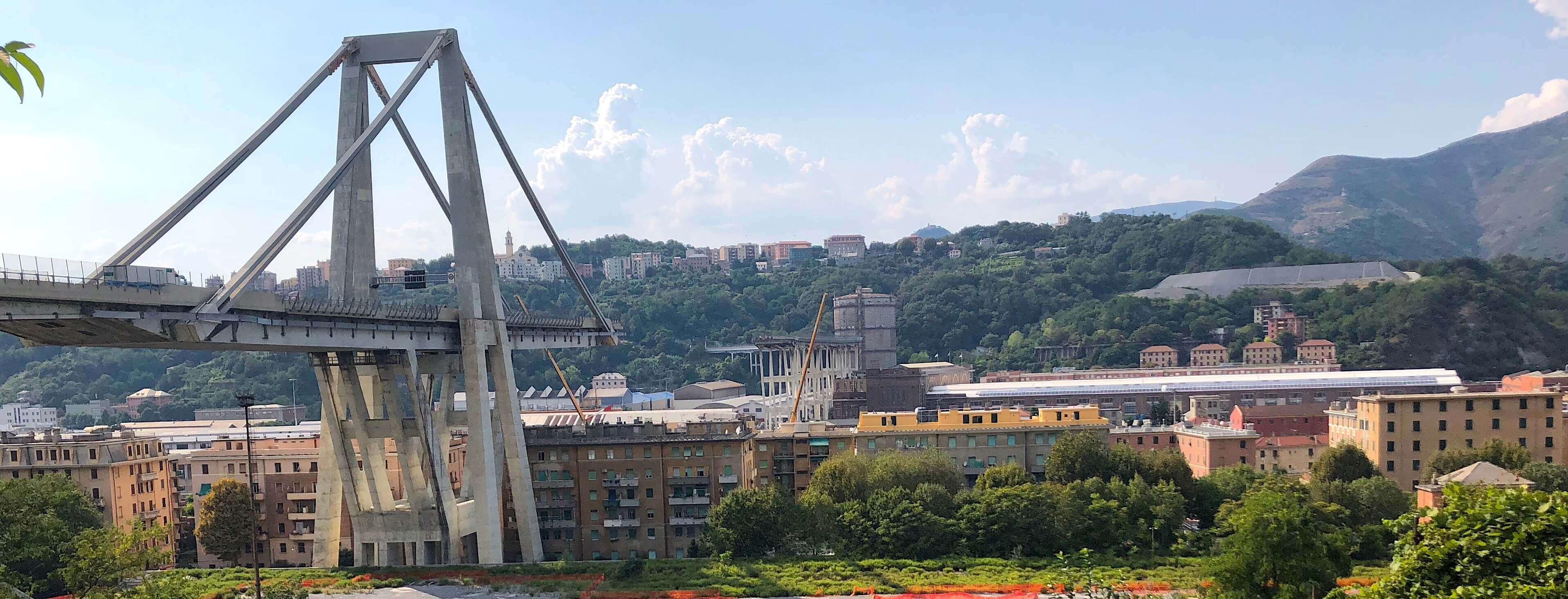 Genua: Morandi-Brücke (Brückeneinsturz)