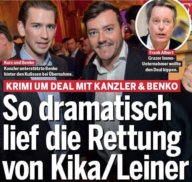 Kika-Leiner, Benko
