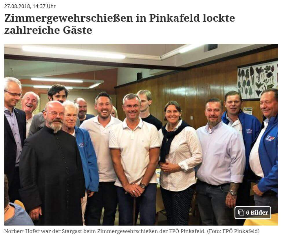 Nazi-Posting FPÖ Hofer Babitsch Pinkafeld