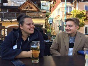 Lena Jäger und Christian Berger in Hallstatt (Frauenvolksbegehren aktueller Stand)