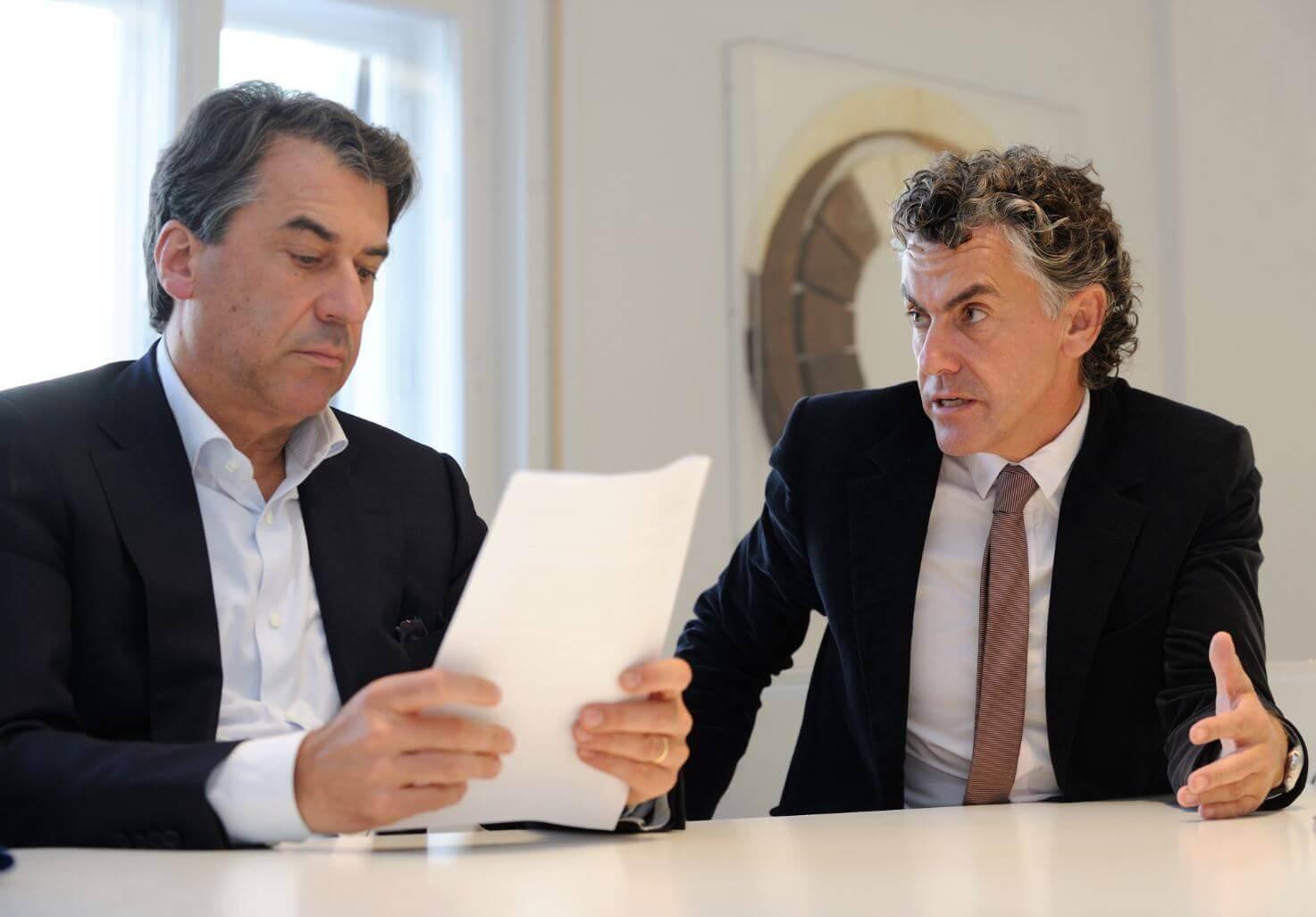 Stefan Pierer & Michael Tojner