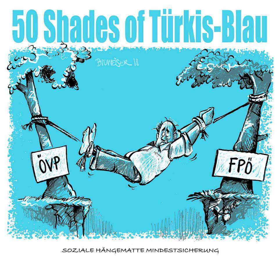 50 Shades of Türkis-Blau