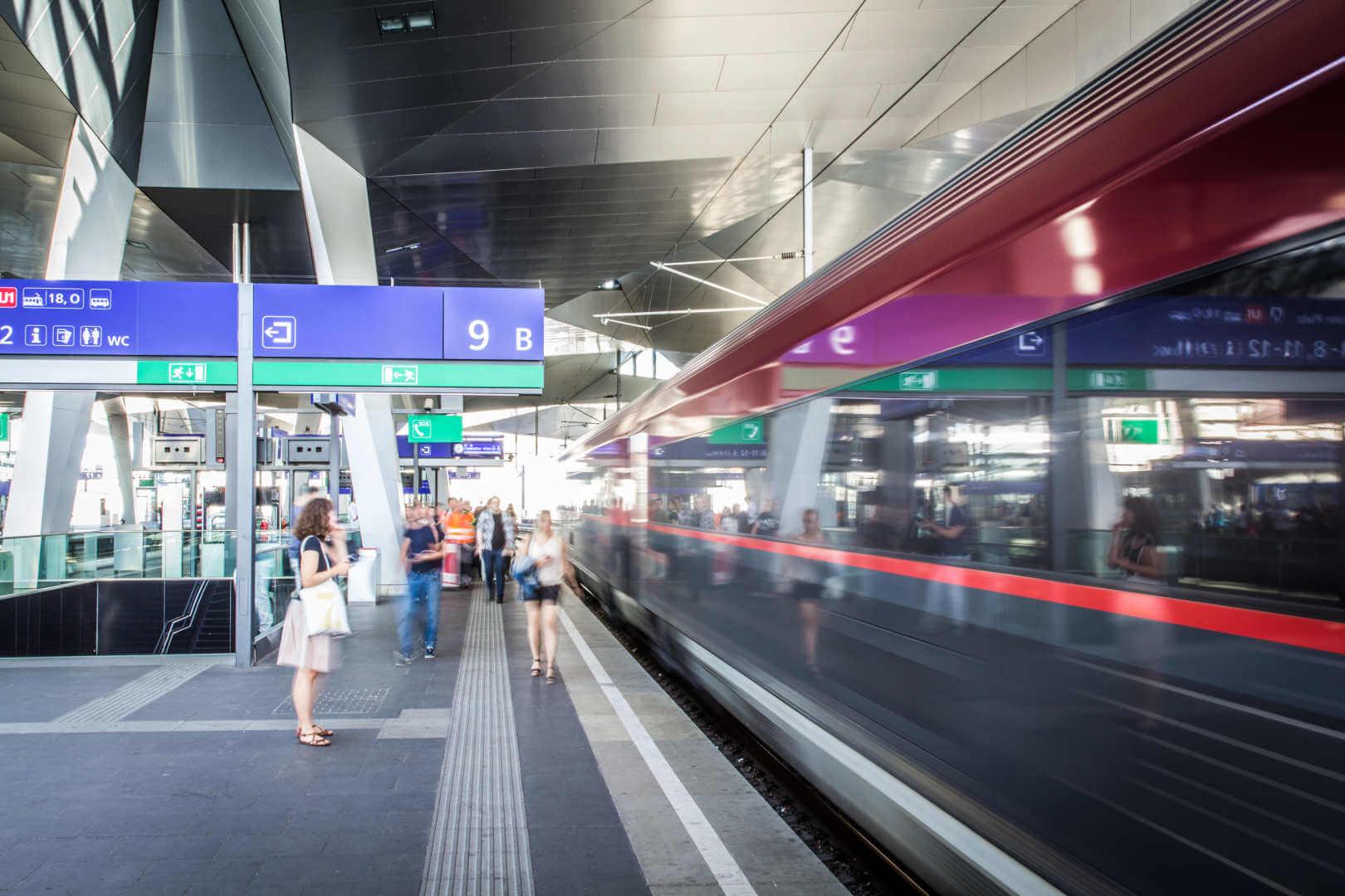 ÖBB Streik Bahnstreik
