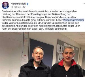 Herbert Kickl sagt im BVT-Untersuchungsausschuss, dass er nichts von Preiszlers FPÖ Parteimitgliedschaft gewusst haben will