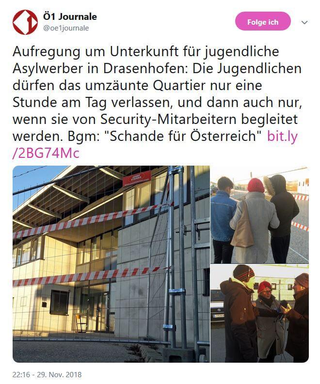 Asylquartier Gottfried Waldhäusl