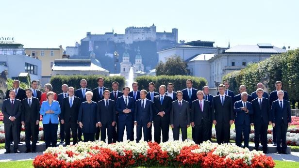 Die Finanztransaktionssteuer ist beim Treffen der Staatsoberhäupter in Salzburg kein Thema.
