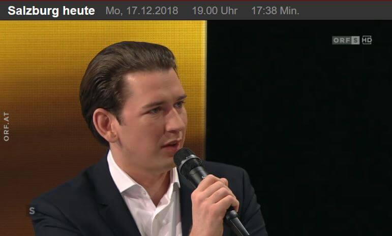 Sebastian Kurz ORF
