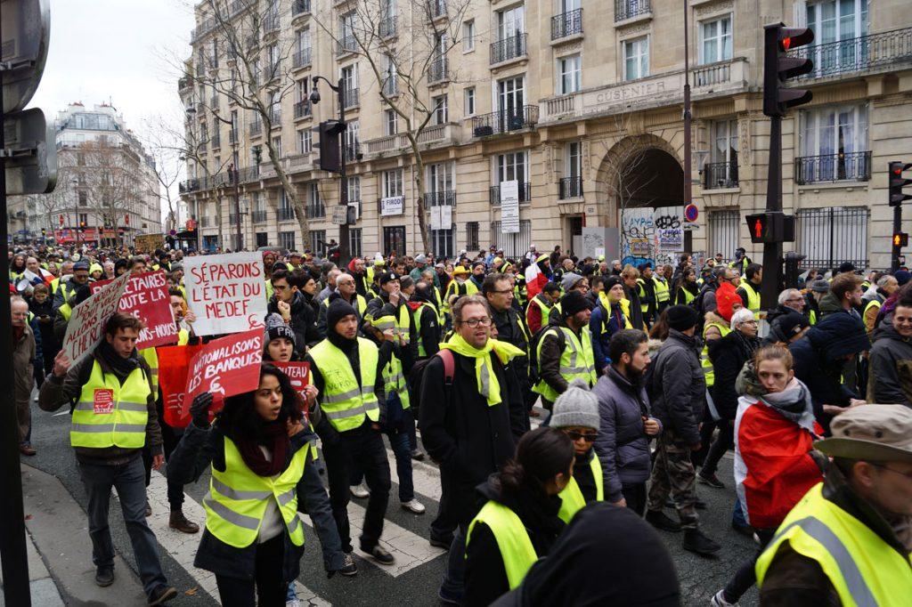 Frankreich - Paris 2019, Gelbwesten demonstration gegen Macron - Foto: Lea Fauth