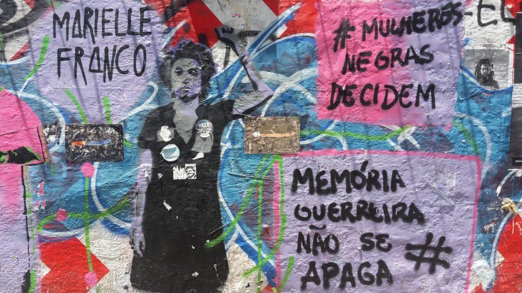 Murales in Rio erinnern an Marielle Franco (Foto: Dominik Zimmer)