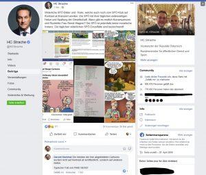 Strache Kontrast Fake News