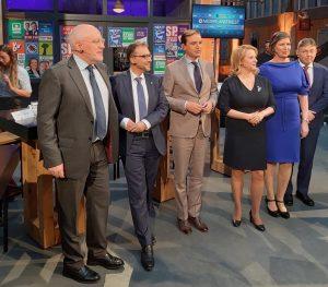 Niederlande am Wahlabend: Frans Timmermanns und seine Konkurrenten zur Europawahl 2019