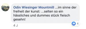 Die FPÖ Ernennung von Wiesinger als Kulturrat erzeugte einen Skandal