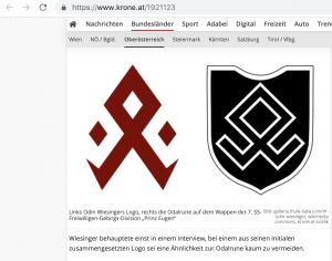 Wiesinger Logo Odalrune Vergleich