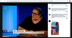 Blimlinger Kommentar Screenshot Wiesinger