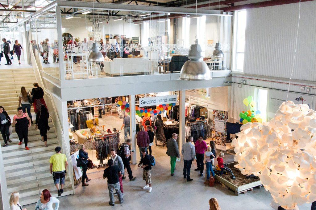 In Schweden steht das einzige Recycling Kaufhaus
