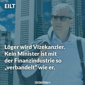 Die ÖVP Übergangsregierung ist eine Alleinregierung der ÖVP alle Minister bekommen einen türkisen Kabinetts-Chef vorgesetzt.