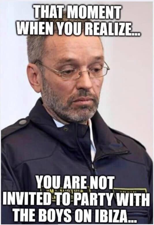 Strache memes ibiza