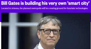 Unternehmer wie Bill Gates haben die Smart City für sich entdeckt. In Barcelona ist die Wirtschaft reguliert