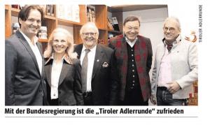 Tiroler Adler Rund & ÖVP Kurz Parteispenden