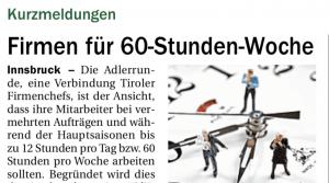 Tiroler Adler Runde & ÖVP Kurz Parteispenden
