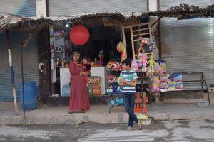 Kobani in Norden von Syrien