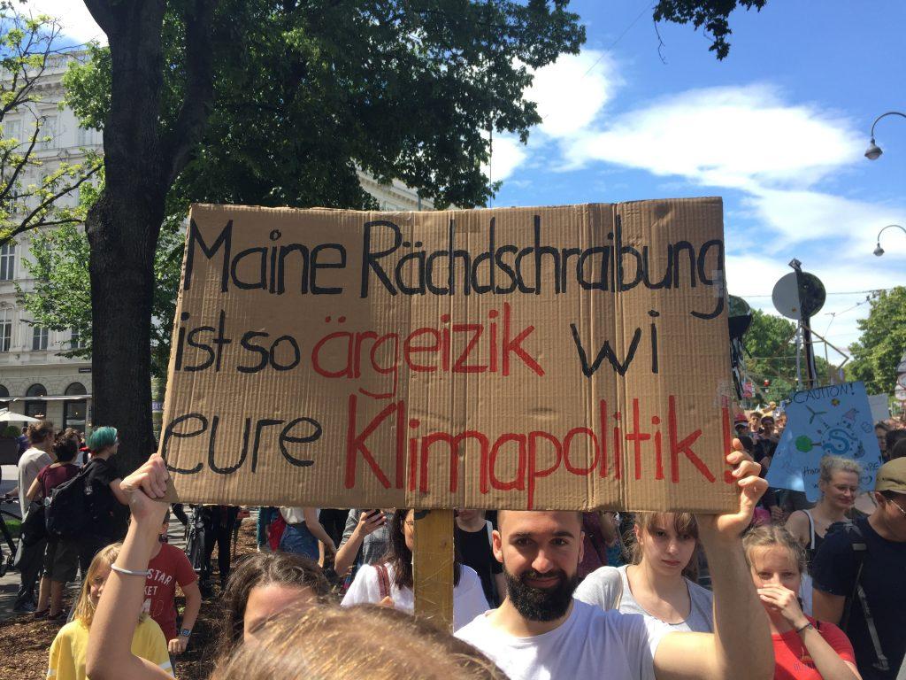 Österreich Schlusslicht beim Klimaschutz, Jugendliche fordern Maßnahmen