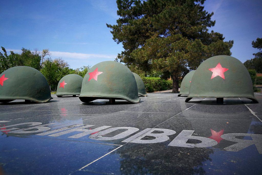 Wolgograd - Denkmal an die Schlacht von Stalingrad
