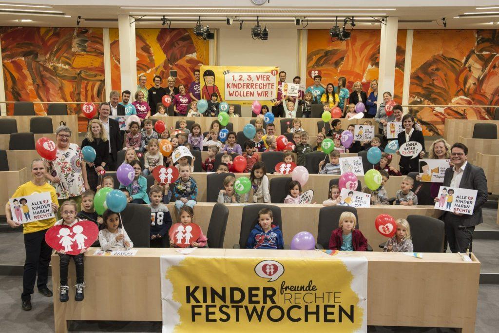 Kinderrechte im Parlament