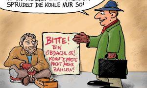 Türkise Sozialpolitik in einem Bild zusammengefasst...