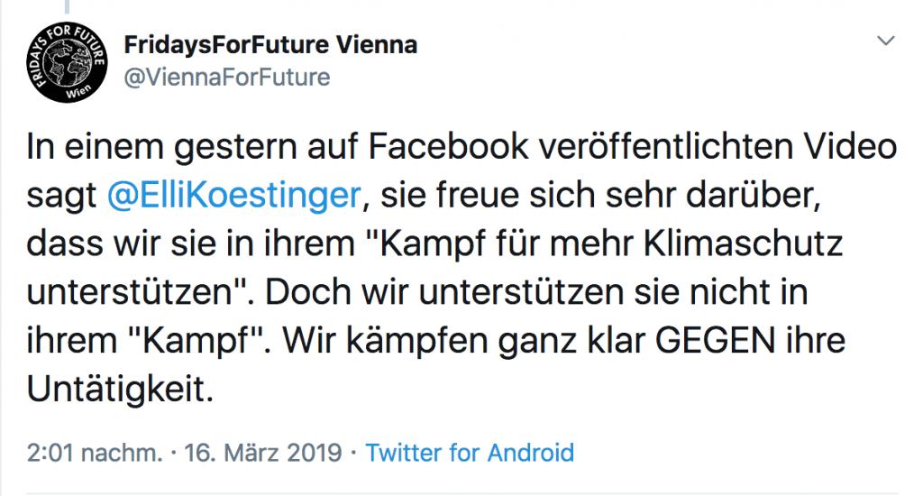 Fridays for Future: Junge sagen ÖVP ab