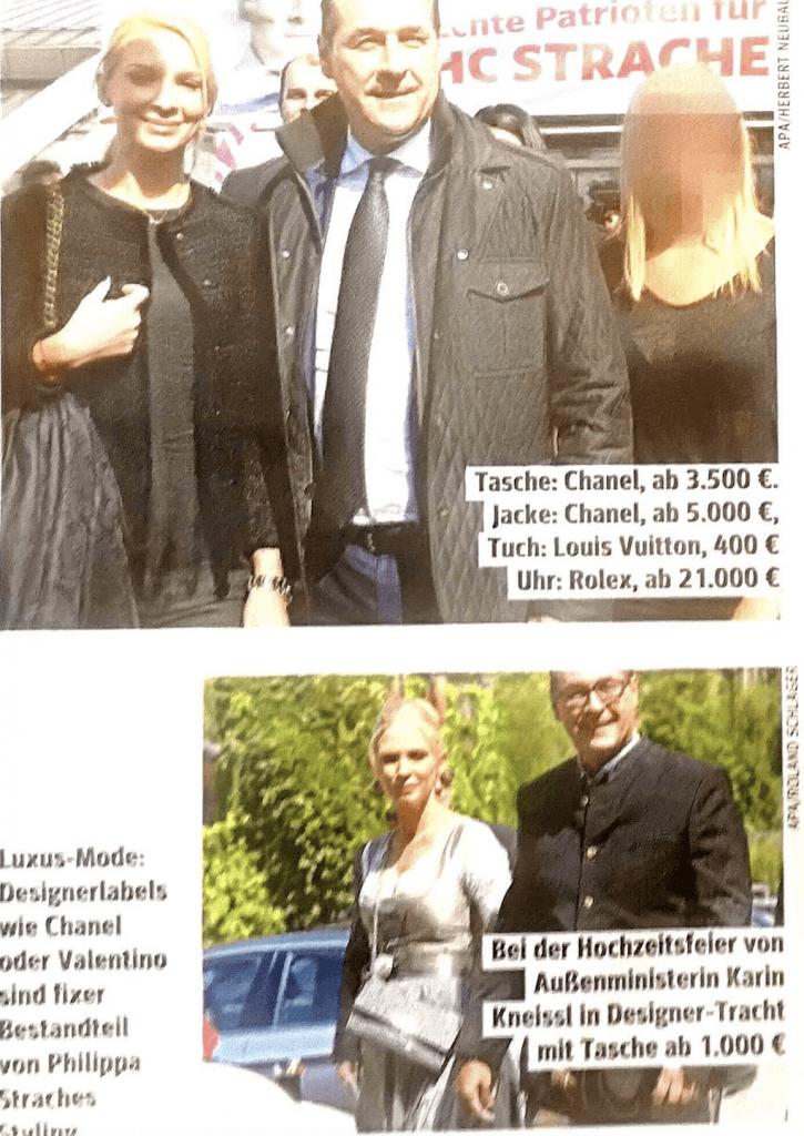 Norbert Hofer und sein Gartenzaun folgen den Straches in den FPÖ Finanzskandal