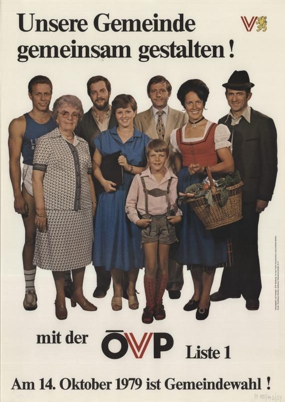 ÖVP in die Regierung, so der Slogan