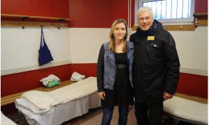 Wiener Viktoria und Toni Polster: Fußball mit sozialer Grätzlhilfe