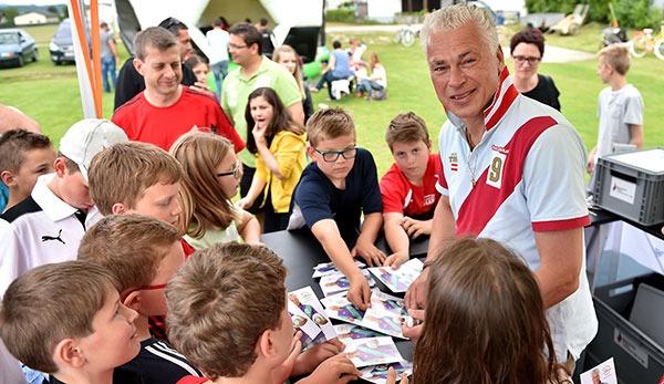 Toni Polster ist Trainer bei der Wiener Viktoria.
