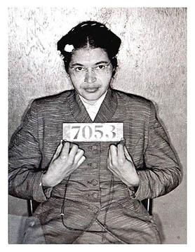 Rosa Parks Bus Boykott 1955