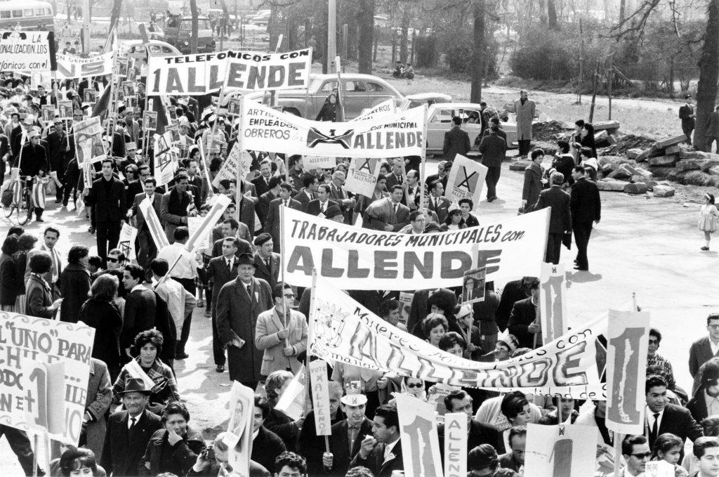 El Pueblo Unido Chile Proteste Lied