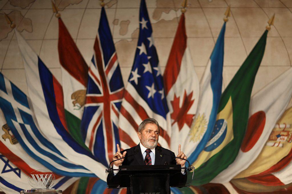 Lula frei Brasilien Präsident