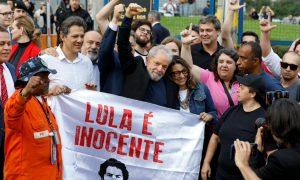 Lula ist frei: Der populäre linke Ex-Präsident wurde aus dem Gefängnis entlassen