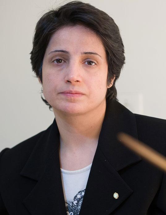 Sie gehört trotz ihres Engagements nicht zu den berühmtesten Frauen: Nasrin Sotoudeh
