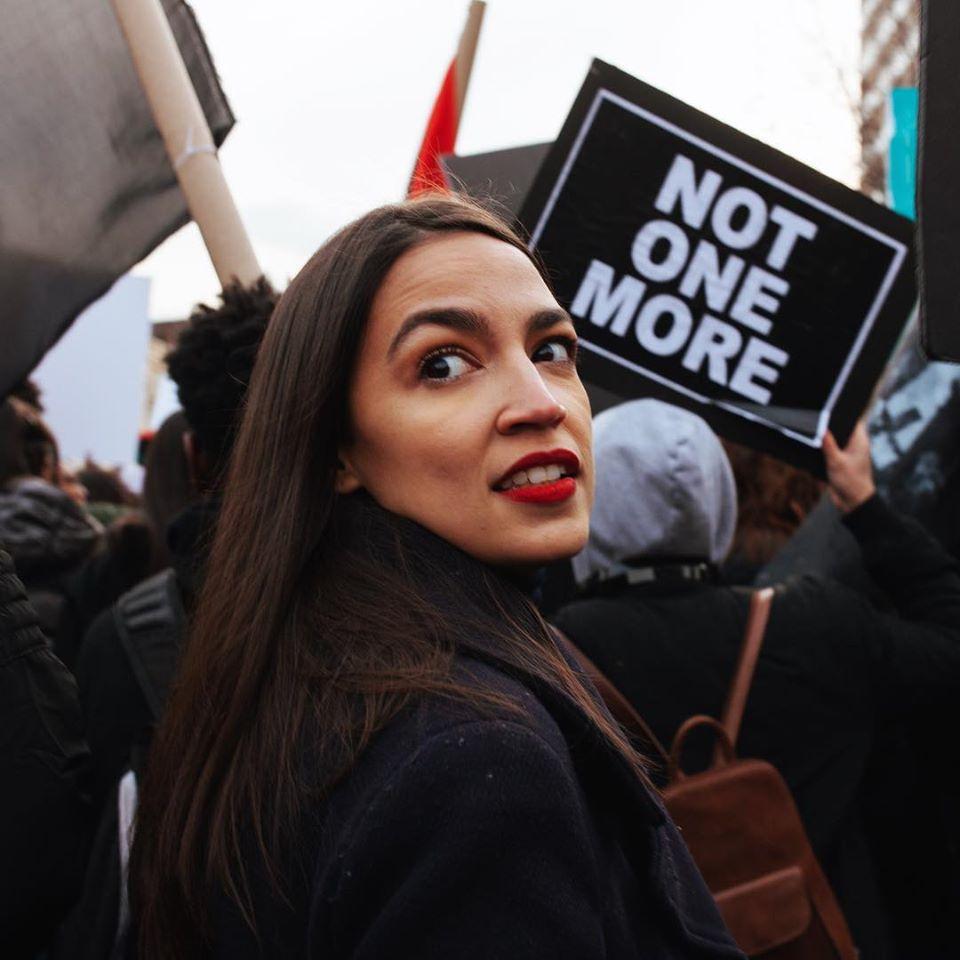 Alexandria Ocasio-Cortez zog 2019 ins US-Repräsentatenhaus ein