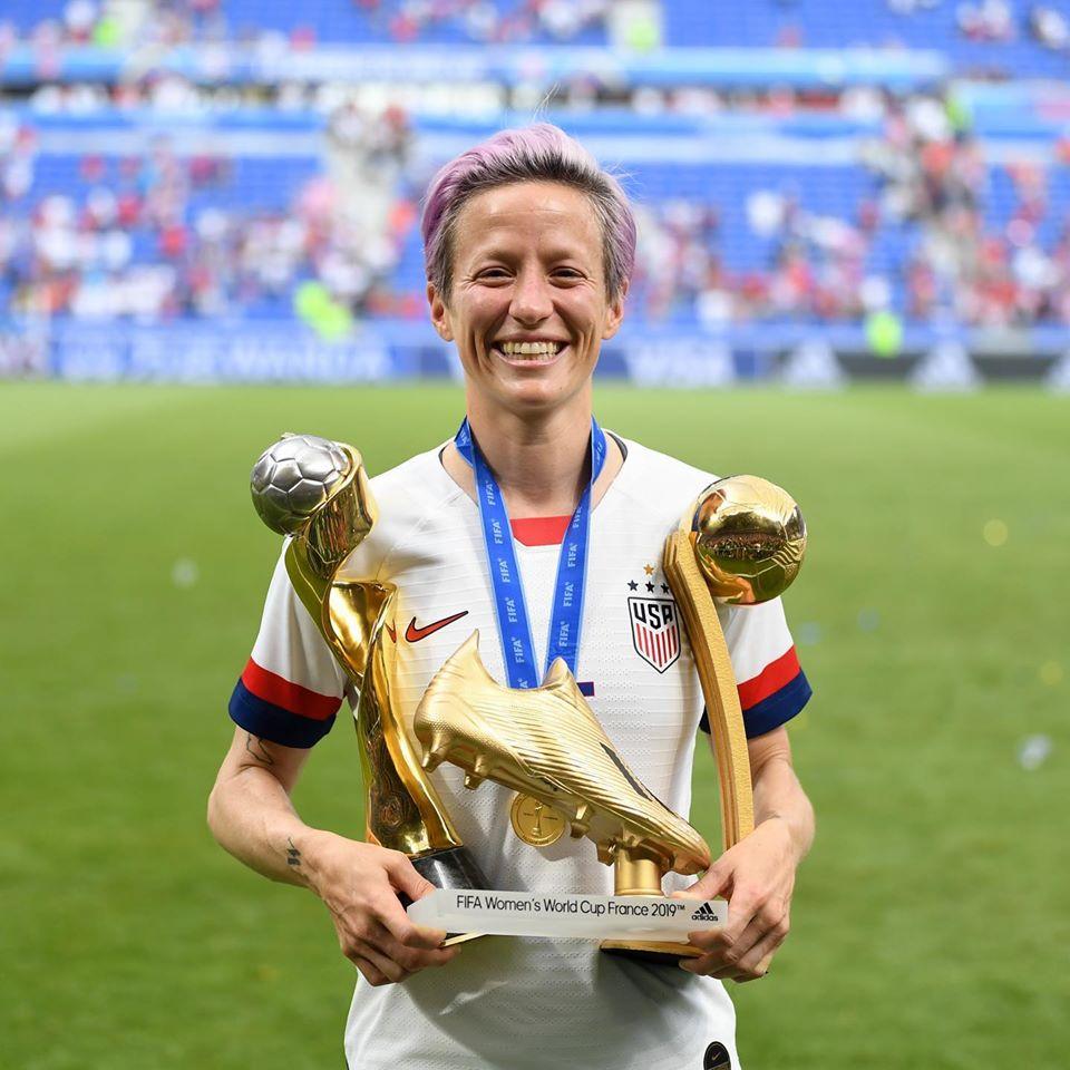 Megan Rapinoe gewann 2019 die WM